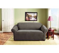 Sure Fit Stretch Pearson 2 Seater Sofa Cover Taupe
