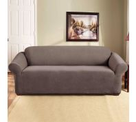 Sure Fit Stretch Pearson 3 Seater Sofa Cover Taupe