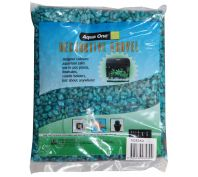Aqua One Decorative Gravel 1kg Aqua 7mm