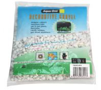 Aqua One Decorative Gravel 1kg White 7mm