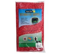 Aqua One Decorative Gravel 2kg Scarlet Red 7mm
