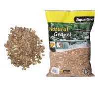 Aqua One Natural Gravel Layered Brown 2kg