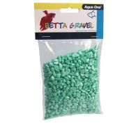 Aqua One Betta Gravel Metallic Green 350g
