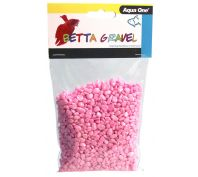 Aqua One Betta Gravel Metallic Pink 350g