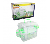 Pet One Critter Crib Mouse Habitat Green 2 Level