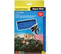 Aqua One Scrub n Clean Algae Pad Coarse Large
