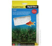 Aqua One Scrub N Clean Algae Pad Fine Large