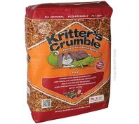 Kritter Krumble Organic Bedding Substrate Fine 20 Litre