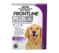 Frontline Plus for Large Dogs 20-40kg