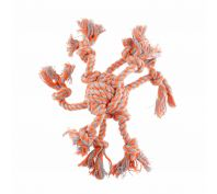 Yours Droolly Chewers Rope Octopus Orange