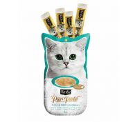 Kit Cat Purr Puree Tuna & Fibre Anti Hairball Cat Treat 60g