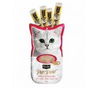 Kit Cat Purr Puree Tuna & Smoked Fish Cat Treat 60g