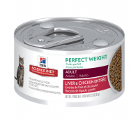 Hills Science Diet Cat Adult Perfect Weight 24 x 82G
