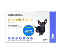 Revolution for Dogs 2.6-5kg Pack of 3