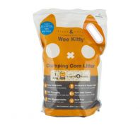 Rufus & Coco Wee Kitty Clumping Corn Litter - 4kg/8L
