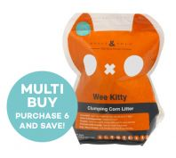 Rufus & Coco Wee Kitty Clumping Corn Litter - 2kg/4L