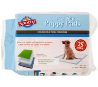 Spotty Indoor Dog Toilet Pads 25 Pack