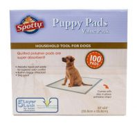 Spotty Puppy Training Pads Value Pack of 100