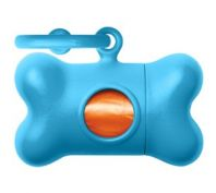 United Pet Bon Ton Classic Blue Poo Bag Dispenser