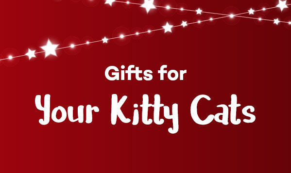 Gifts for your kitty cats